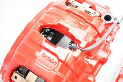 Porsche Panamera Cayenne Brembo 6pot Calipers 7PP615149 7PP615150 20.A221.03 New