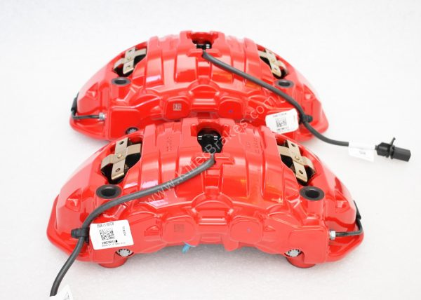 Porsche Panamera Cayenne Brembo 6pot Calipers 7PP615149 7PP615150 20.A221.03 New