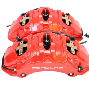 Front Porsche Panamera Cayenne Calipers Brembo 6pot 7PP615149 7PP615150 20.A221.03 New