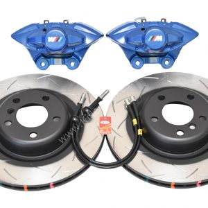 Rear Bmw M Performance Brake kit 2pot Brembo DBA 345x24mm Brake Discs New