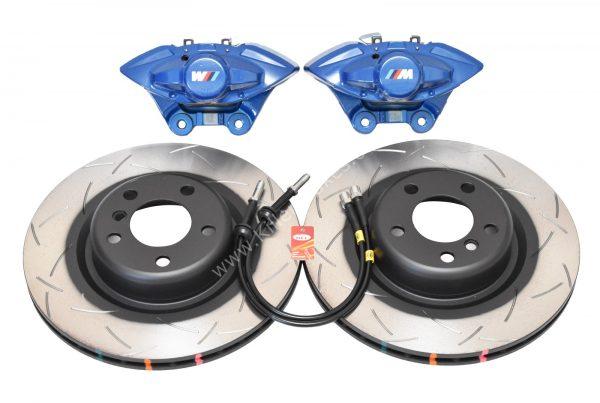 Rear Bmw M Performance Brake kit 2pot Brembo DBA 345x24mm Brake Discs New