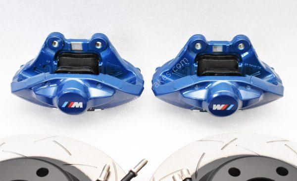 Bmw M Performance 2pot Brembo Brake kit DBA 345x24mm Brake Discs New