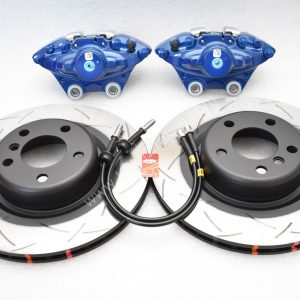 Bmw M Performance 2pot Brembo Brake kit DBA 345x24mm Brake Discs New