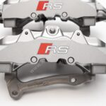 Front Audi TTRS 8S RS3 8v Ceramic Calipers 8v0615107E 8v0615108E Brembo 8pot NEW with storage signs- 129