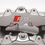 Front Audi TTRS 8S RS3 8v Ceramic Calipers 8v0615107E 8v0615108E Brembo 8pot NEW with storage signs- 130