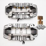Front Audi TTRS 8S RS3 8v Ceramic Calipers 8v0615107E 8v0615108E Brembo 8pot NEW with storage signs- 134