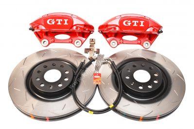 MQB Brake Kit Porsche Macan Brembo 4pot DBA Slotted discs NEW