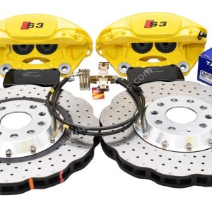 MQB Track Brake Kit Porsche Macan Brembo 4pot DBA 2-piece Brake Discs NEW