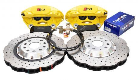 MQB Track Brake Kit Porsche Macan Brembo 4pot DBA 2-piece Brake Discs NEW