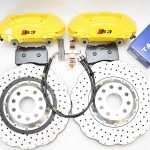 MQB Porsche Macan Brembo 4pot Track use Brake Kit NEW
