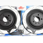 Rear brake upgrade 356mm Round DBA Slotted discs Golf 5 6 7 R20 Gti R R32 Audi S3 8v 8p