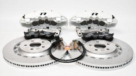 Audi TTRS 8S FL Brakes Brembo 8Pot Calipers 370x34mm Round Brake Discs MQB upgrade NEW