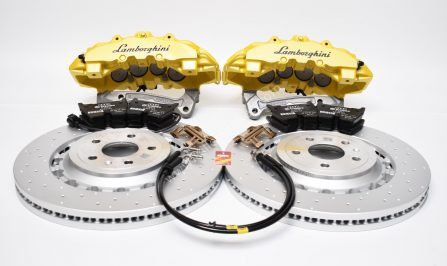 Audi TTRS 8S FL Brakes Brembo 8Pot Calipers 370x34mm Round Brake Discs MQB upgrade NEW