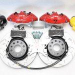 MQB Alfa Romeo Giulia Stelvio Brembo 4pot DBA 340x30mm Brake Kit NEW