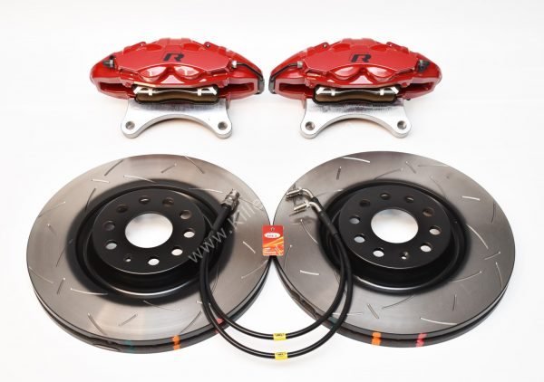 MQB Alfa Romeo Giulia Stelvio Brembo 4pot DBA 340x30mm Brake Kit NEW