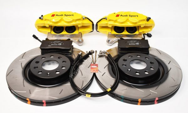 MQB Alfa Romeo Giulia Stelvio Brembo 4pot DBA 340x30mm Brake Kit NEW Yellow