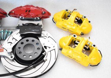 MQB Alfa Romeo Giulia Stelvio Brembo 4pot Tarox F2000 340x30mm Brake Kit NEW