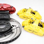 MQB Alfa Romeo Giulia Stelvio Brembo 4pot Tarox F2000 340x30mm Brake Kit NEW