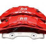 Audi RS4 8W RS5 F5 B9 Brake Calipers Saddles 8W0615105DK 8W0615106DK Red New