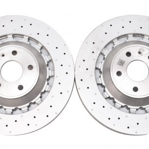 Audi Rs3 8v FL Sportback 8V0615301S Pair Round Brake Discs 370x34mm NEW