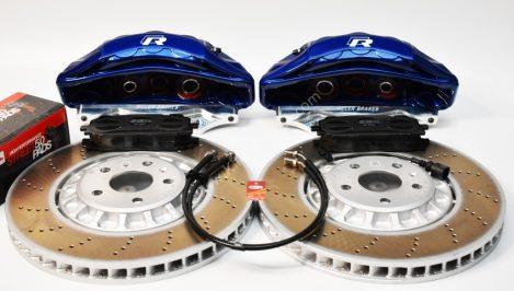 Audi Rsq3 2020 Akebono 6pot Brake kit 374x36mm Lapiz Blue New P&P MQB