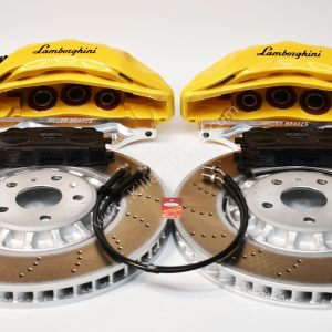 Audi Rsq3 2020 Akebono 6pot Brake kit 374x36mm Yellow Lamborghini New P&P MQB