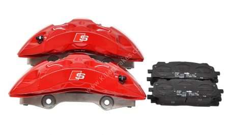 Audi S4 8W S5 F5 Brake Calipers Saddles Brake Pad 8W0615105EE 8W0615106EE 6pot Red New