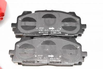 Audi S4 8W S5 F5 Brake Calipers Saddles Brake Pad 8W0615105EE 8W0615106EE 6pot Red New