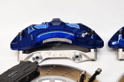 VAG MQB Big Brake Kit Akebono 6-Piston 374x36mm Lapiz Blue New