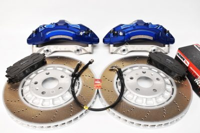 VAG MQB Big Brake Kit Akebono 6-Piston 374x36mm Lapiz Blue New
