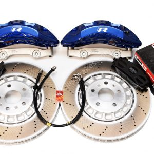 Audi Rsq3 2020 Akebono 6pot Brake kit 374x36mm Lapiz Blue New P&P MQB