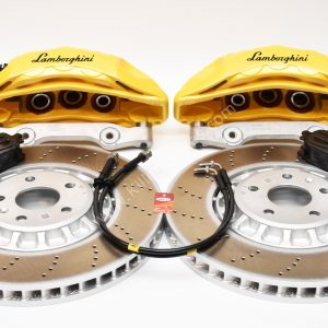 VAG MQB Big Brake Kit Akebono 6-Piston 374x36mm Yellow Lamborghini New