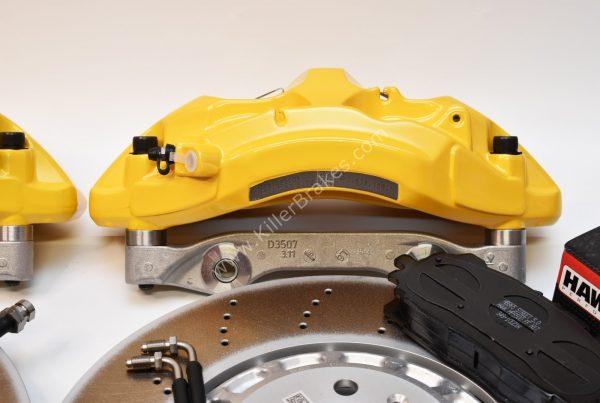 VAG MQB Big Brake Kit Akebono 6-Piston 374x36mm Yellow Lamborghini New