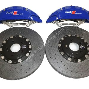 Audi Rs4 RS5 B9 Front Carbon Ceramic Brake Kit 400x38mm NEW Color Blue
