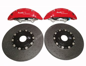 Audi Rs4 RS5 B9 Front Carbon Ceramic Brake Kit 400x38mm NEW Color Red