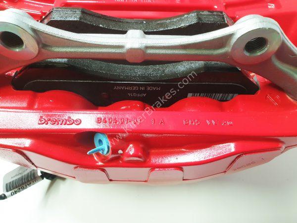 Audi Rs4 RS5 B9 Front Carbon Ceramic Brake Kit 400x38mm NEW Color Red