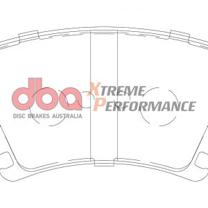Rear Audi S3 8p Mk6 R20 DBA Brake Pads DB1865XP Xtreme Performance