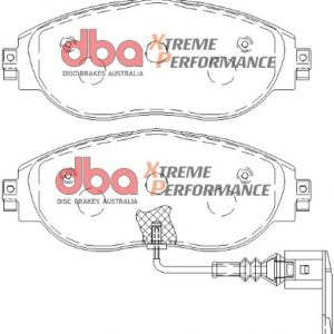 Audi S3 8v Mk7 R Front DBA Brake Pads DB8849XP Xtreme Performance