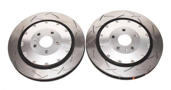 Audi TTRS 8S Brake Discs DBA 53912SLVS 370x34mm 5000 series Fully Assembled 2-Piece