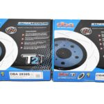 Front DBA 2830S Brake Discs 340x30mm T2 Slotted New