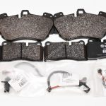 Audi R8 Front & Rear Genuine Audi Ceramic Brake Pads 4E0698151g 4S0698451J NEW