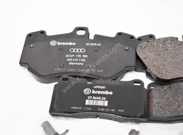Front and Rear Audi R8 Ceramic Brake Pads 4E0698151g 4S0698451J Genuine NEW
