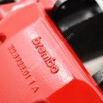 Audi RSQ3 F3 Ceramic Brake Kit Brembo 6pots 380x38mm Ceramic Discs RED NEW