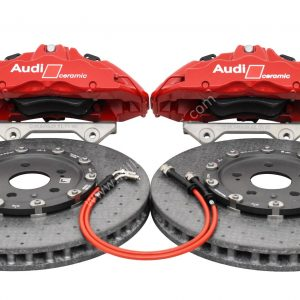 Audi RSQ3 F3 Ceramic Brake Kit Brembo 6pots 380x38mm Ceramic Discs RED NEW