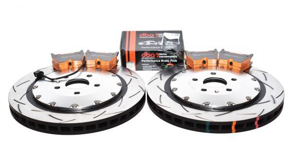 Audi TTRS 8S Brake Discs Pads Package DBA 53912SLVS 370x34mm DBA DB15005XP
