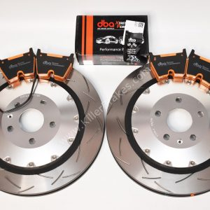 Audi TTRS 8S Brake Discs & Pads Package DBA 53912SLVS 370x34mm DBA DB15005XP