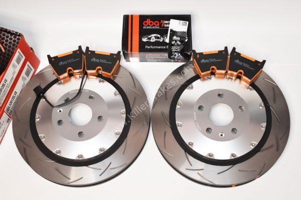 Audi TTRS 8S Brake Discs & Pads Package DBA 53912SLVS 370x34mm DBA DB15005XP