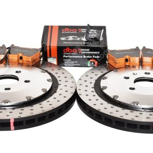 Audi TTRS 8S Brake Discs Pads Package DBA 53912SLVXD 370x34mm DBA DB15005XP