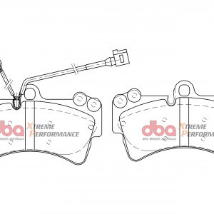 Front Brembo 6pot Z18 18Z Calipers DBA Brake Pads DB7878XP Xtreme Performance Audi Q7 Volkswagen Touareg 4L