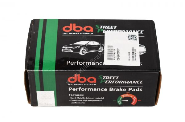 Front Audi S3 8v Mk7 R DBA Brake Pads DB8849SP Street Performance